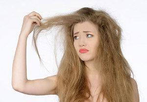 Домашний уход за сухими волосами