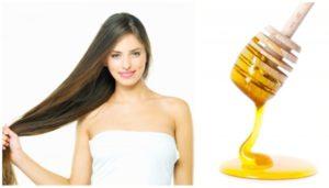 Медовые маски для волос