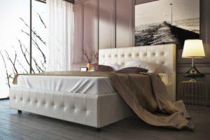 ортопедическая кровать с массажным матрасом